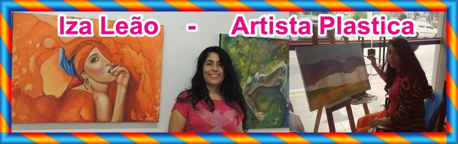 Iza Leão - Artista Plastica