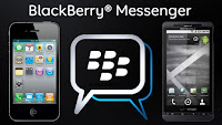 BlackBerry Messenger on iPhone and Android