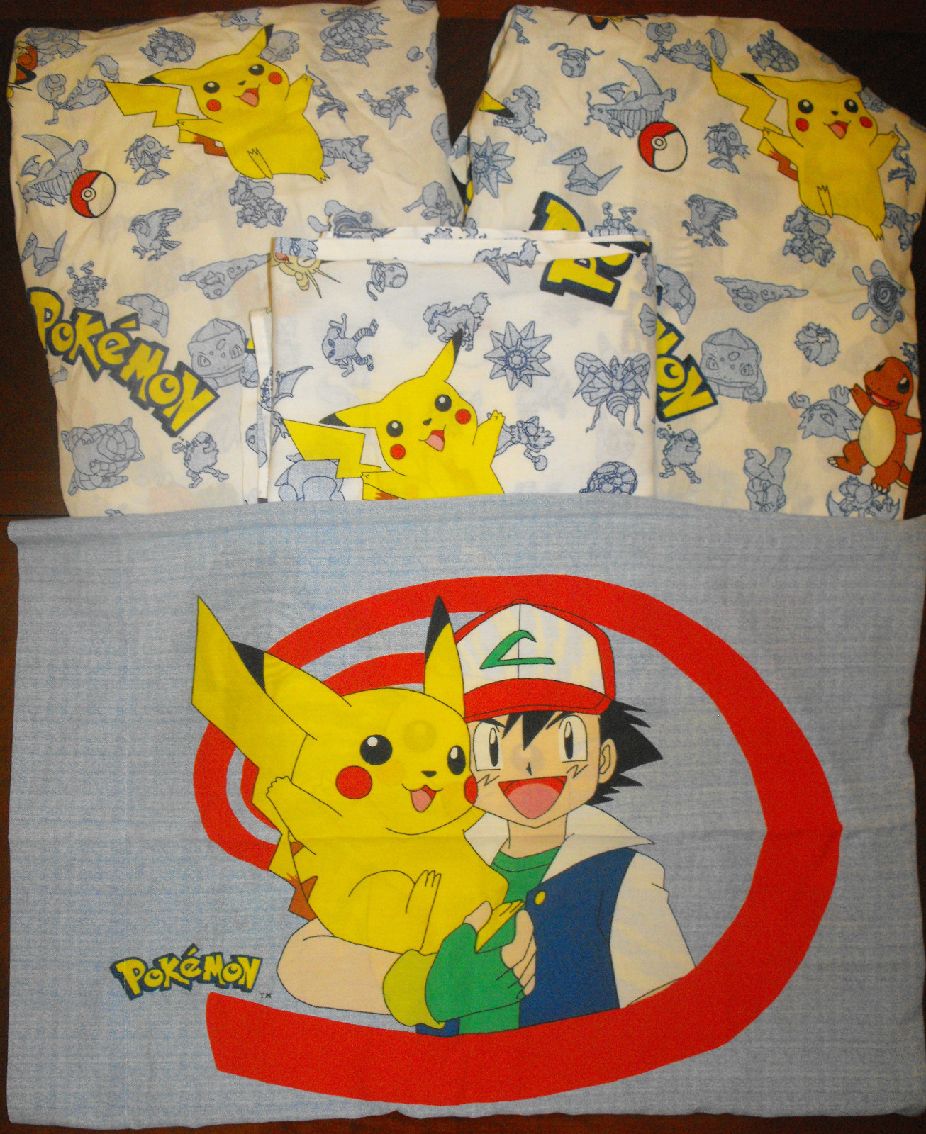 POKEMON Twin 4 Piece Sheet & Pillowcase Set