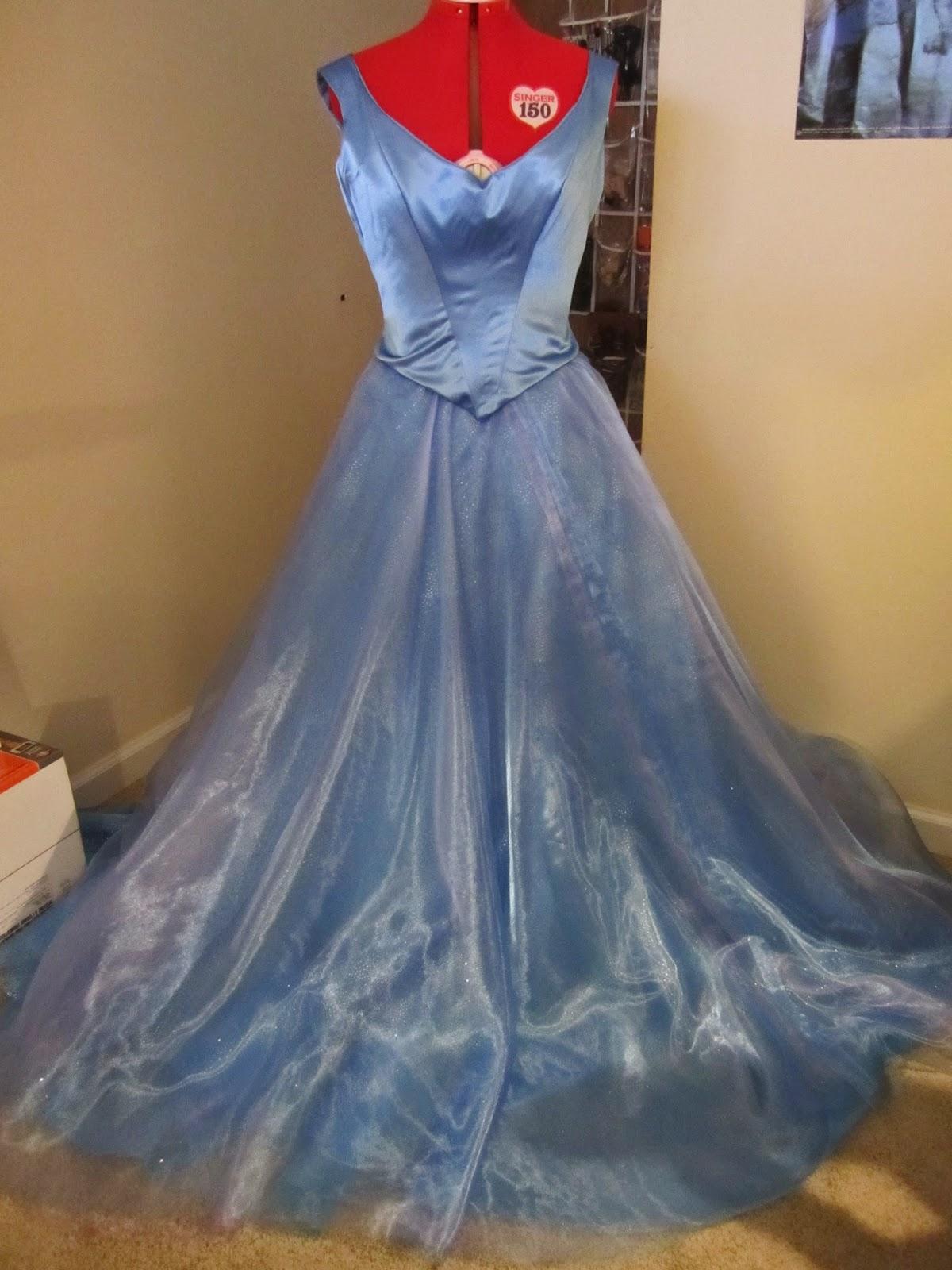 Happily Grim: Cinderella 2015 Ballgown Tutorial