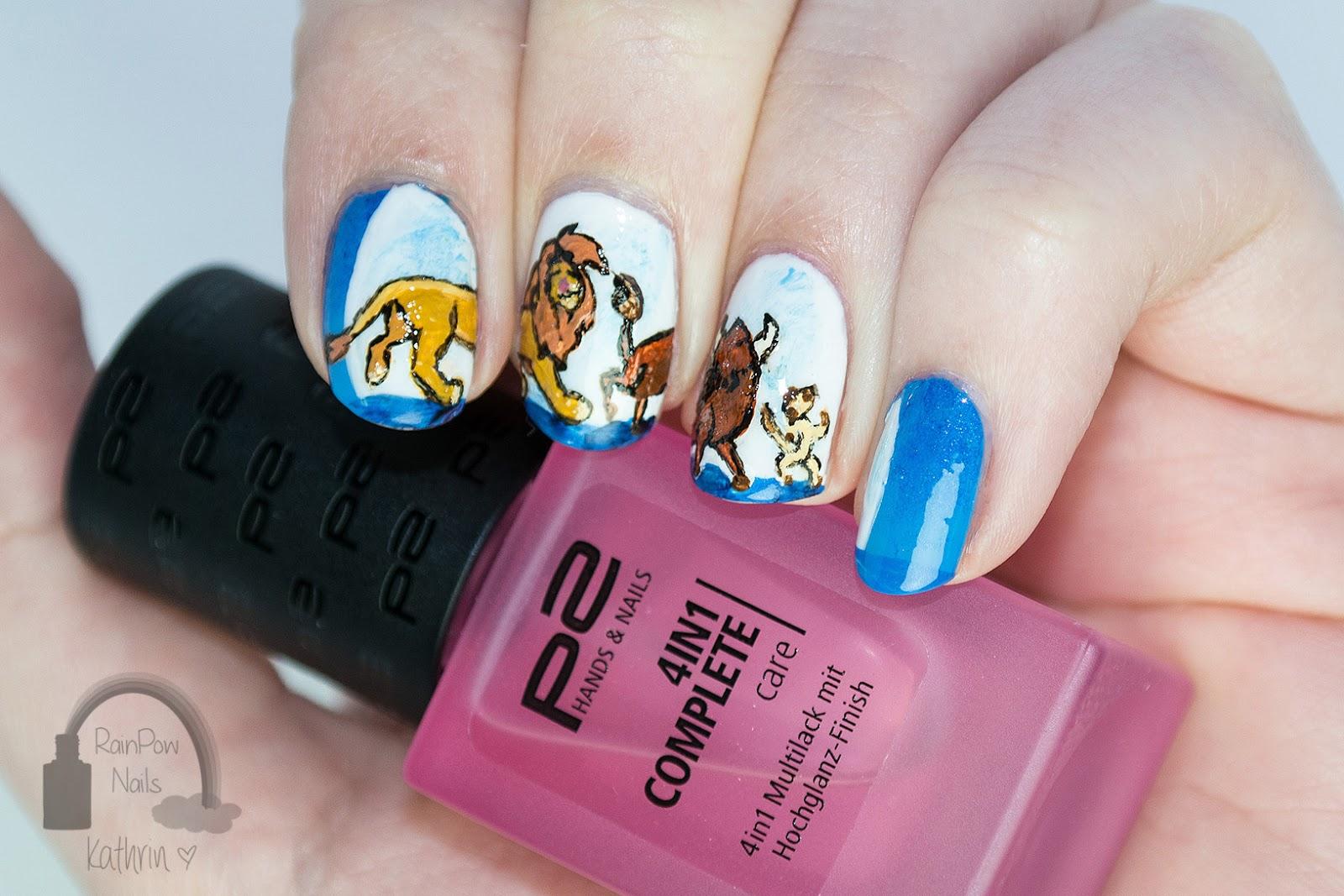 RainPow Nails: Disney Week - Der König der Löwen