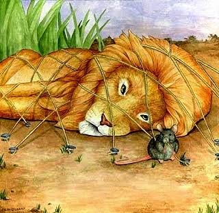 Si Raja Hutan dan Si Tikus