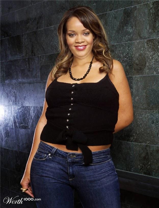 Photos de stars qui prennent trop de poids rihanna beyonce angelinajolie people buzz - Rihanna poids taille ...