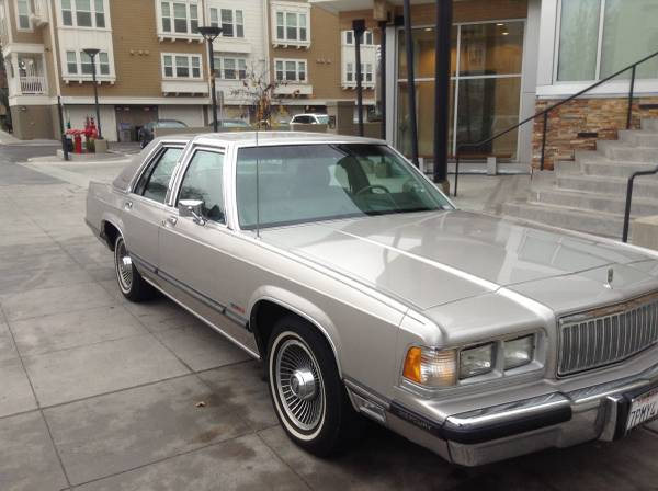 Daily turismo marquis de sad 1989 mercury grand marquis find this 1989 mercury grand marquis offered for 4000 in san jose ca via craigslist tip from kaibeezy publicscrutiny