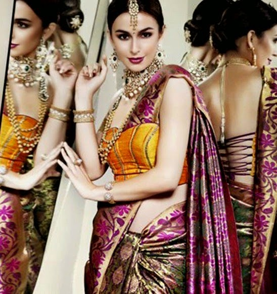 Best Kharisma Indian Saree Fashion 2014
