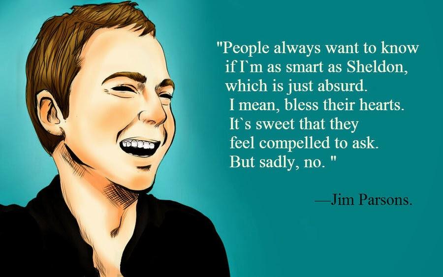 Sheldon Cooper Quotes Wallpaper