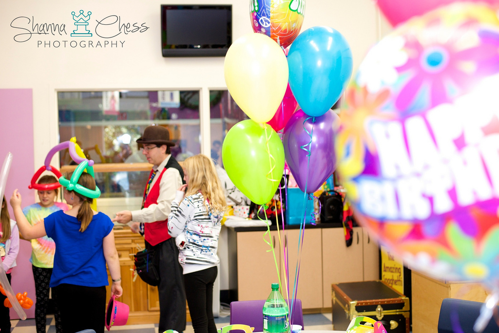 eugene, or event photography birthday party