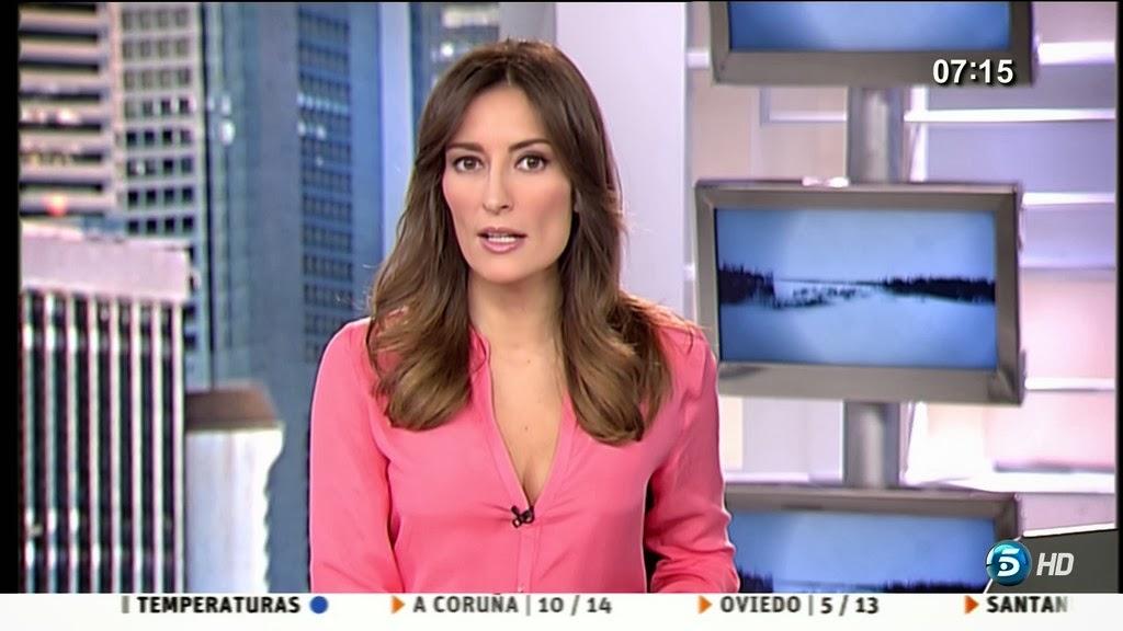LETICIA IGLESIAS, INFORMATIVOS TELECINCO (24.01.14)