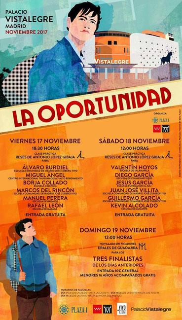 VISTALEGRE (MADRID) ABRE SUS PUERTAS DIA 17 - 18 Y 19 DE NOVIEMBRE PARA DAR LA OPORTUNIDAD .