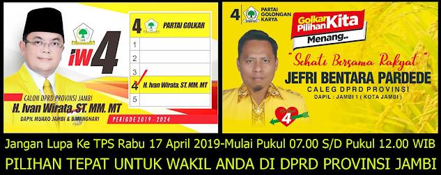 Pemilu Rabu 17 April 2019