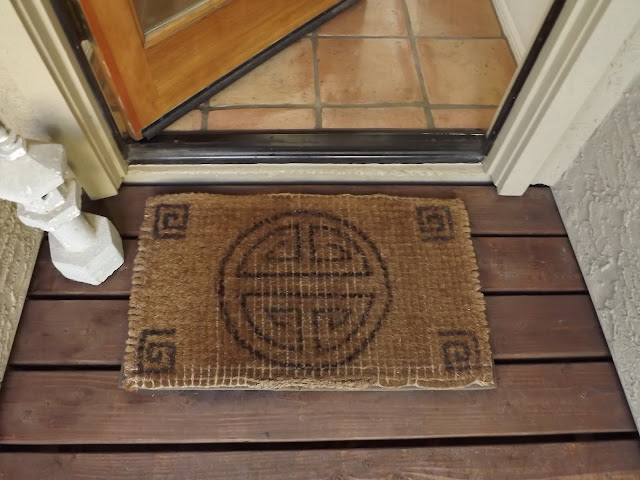 diy doormat design, diy doormat