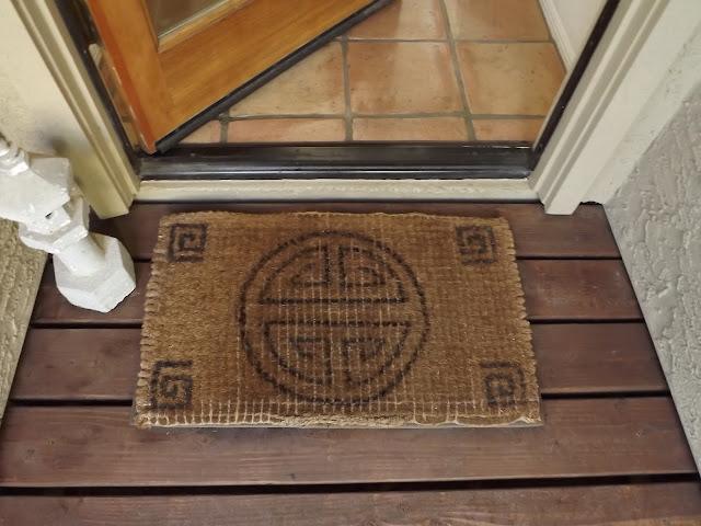 diy doormat design, diy doormat
