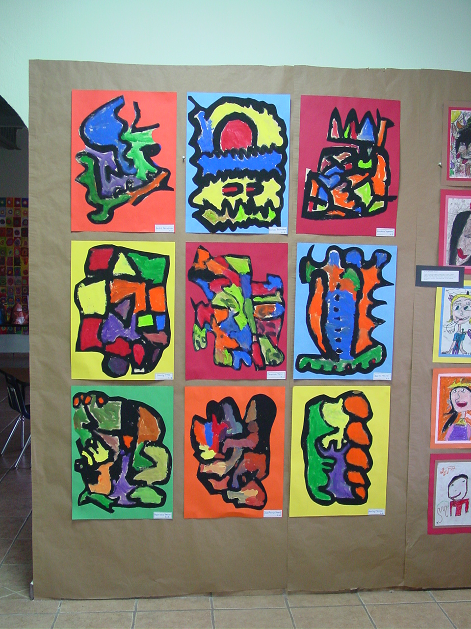 Line Art Grade 2 : Discovery school nursery to grade visual arts