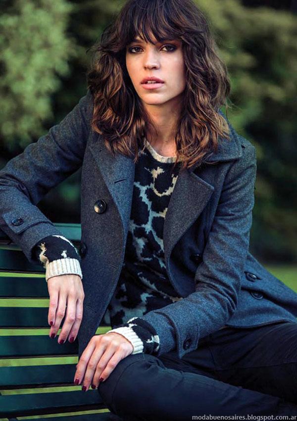 Sacos de mujer invierno 2015 Markova - MODA