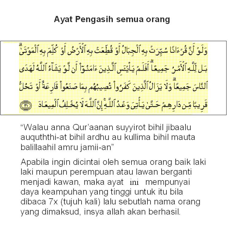 Search Results for 'Doa Pengasih Mujarab'