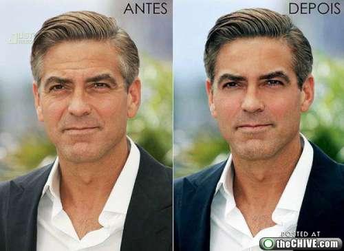 George daha ince daha renkli kırışıklık sarkma yok