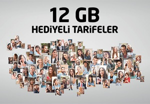 Avea 12 GB Hediye İnternet Kampanyası