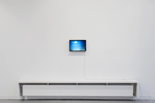 Richard Müller: Photographie caisson lumineux Vue de l'atelier (Ivry)