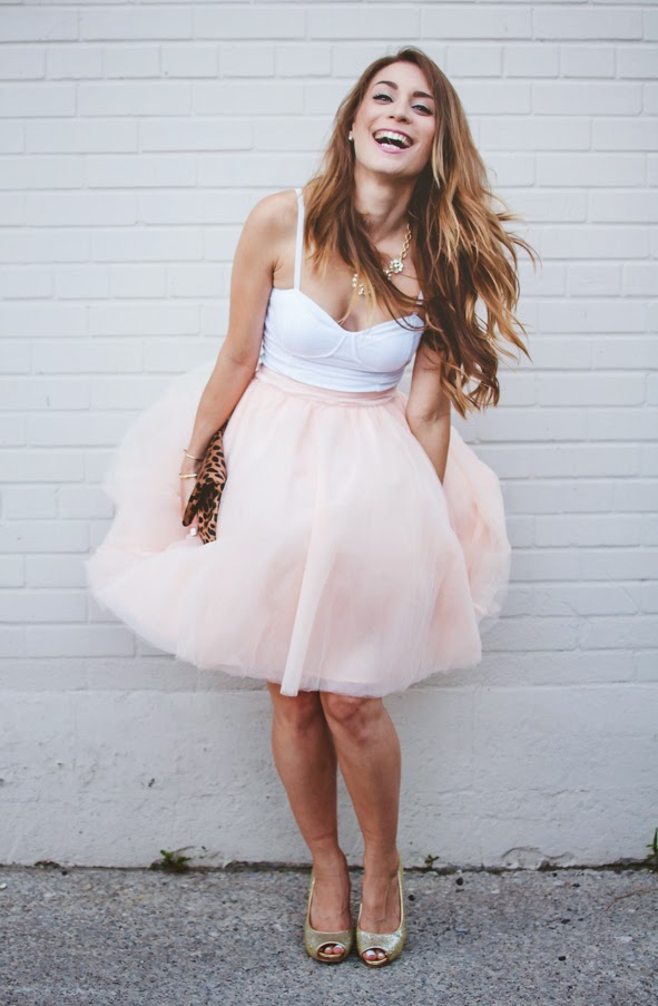 Ootd Blush Pink Tulle Skirt For Our Wedding Anniversary La Petite Noob A Toronto Based