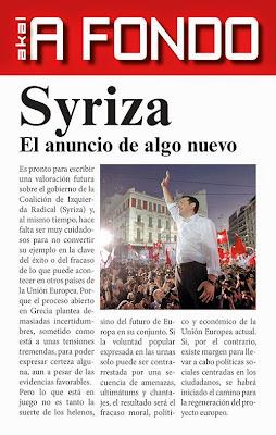 LIBRO - Syriza . El anuncio de algo nuevo : Antonio Cuesta Marín (Akal - Mayo 2015) | POLITICA | Comprar en Amazon