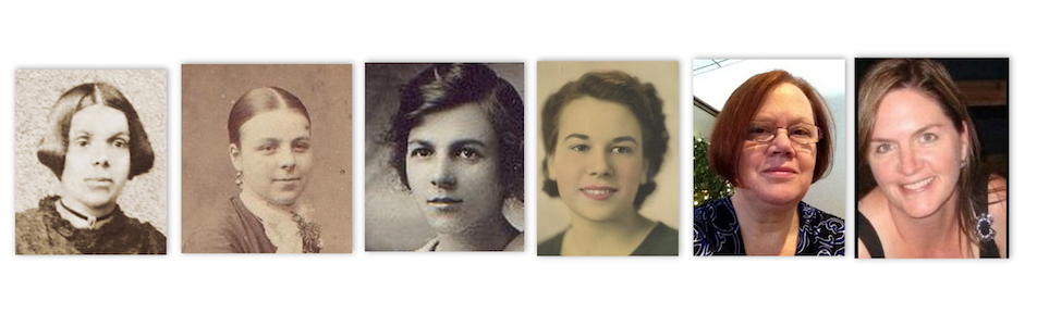 Olive Tree Genealogy Blog: Six Generations of Strong Females on International Women's Day
