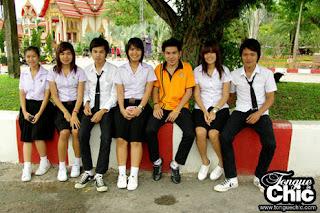 Baju uniform sekolah Thailand
