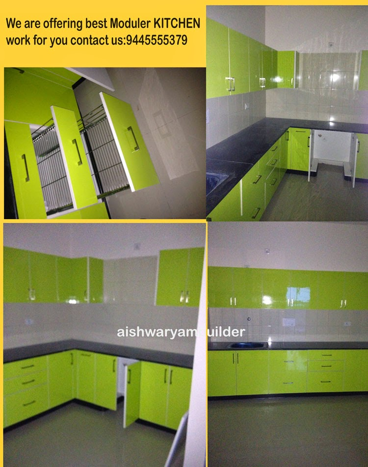 Contractors In Chennai Modern Kitchen Home Modular