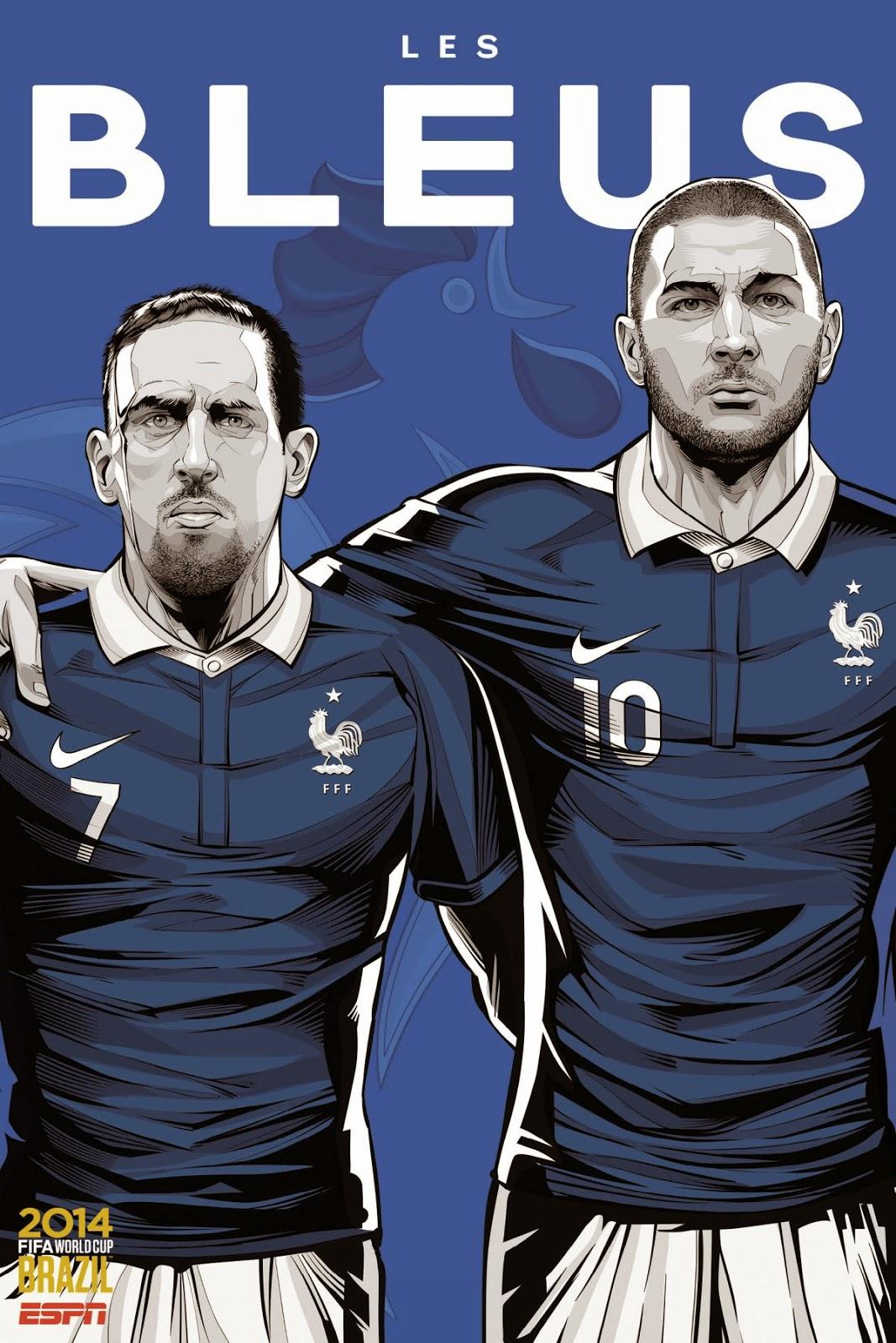 France team 2014