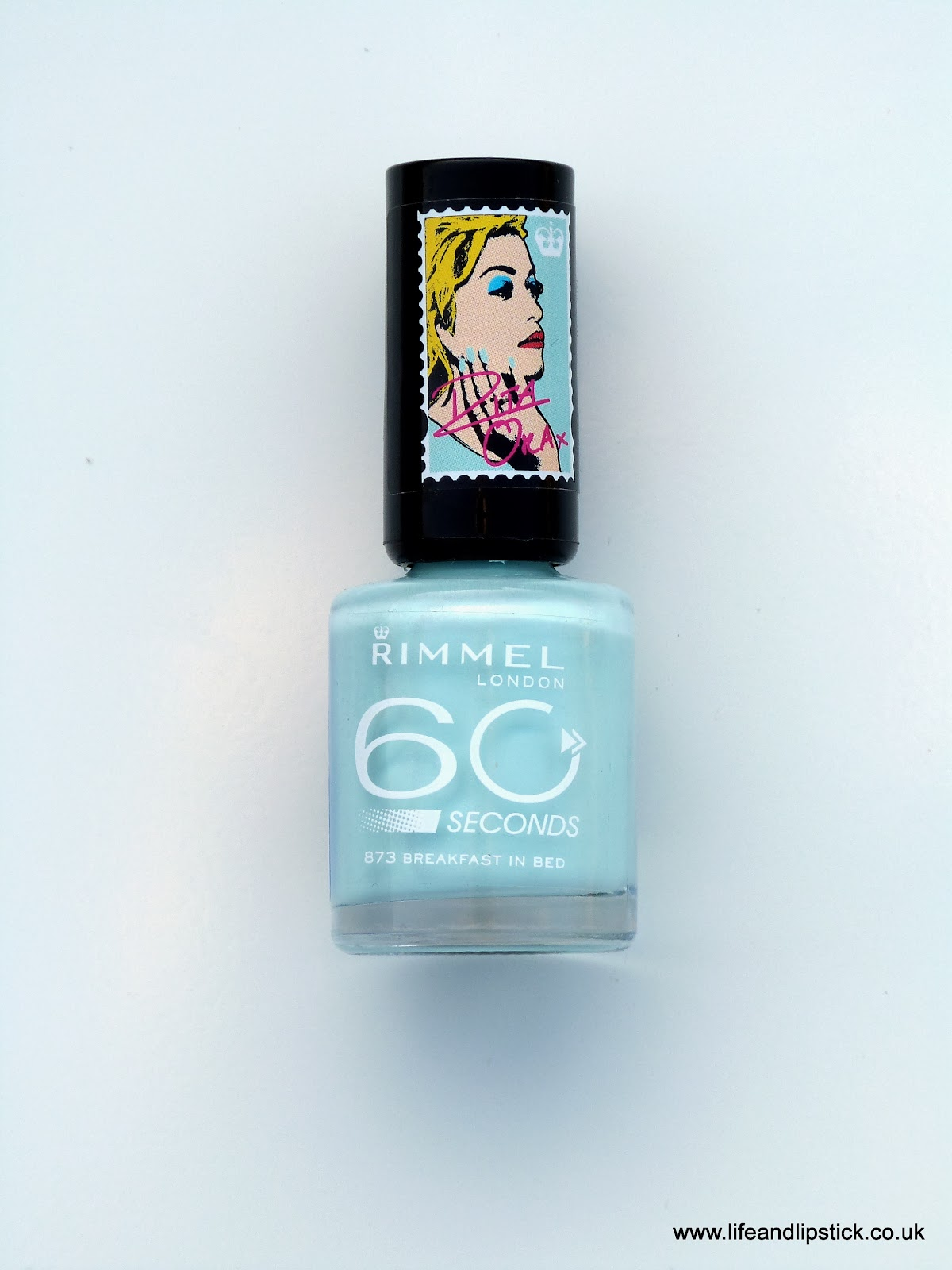Rimmel London 60 Seconds Nail Polish Breakfast in Bed