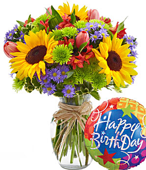 Birthday Flower on Mrs  Nespy S World  Happy Birthday To Who    Birthday Flowers Giveaway