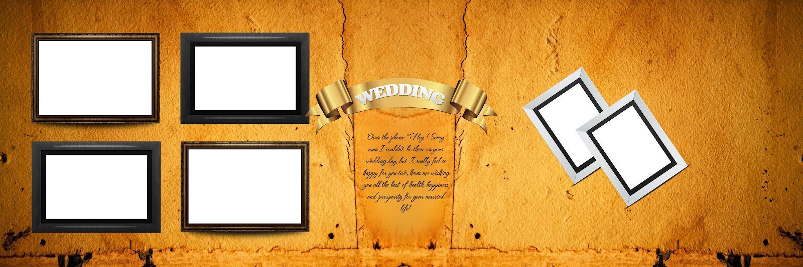 New 12X36 Wedding album Templates
