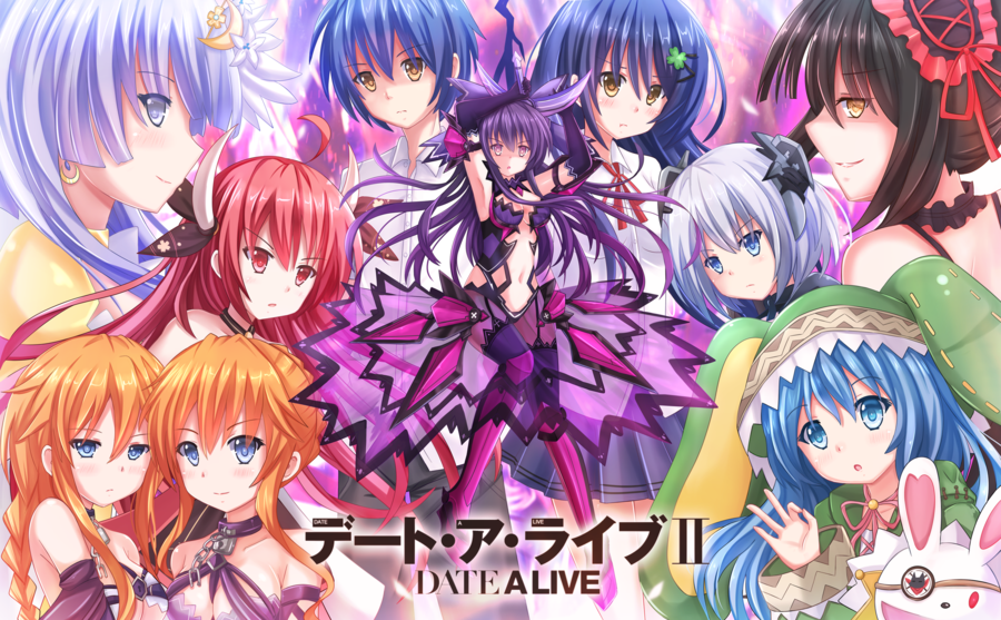 OST Anime - Date A Live Season 2 Opening and Ending Full Song ...