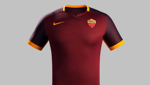 AS Roma Home Kit for 2015-16