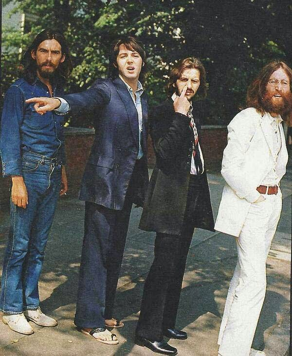 Previo del cruce de Abbey Road