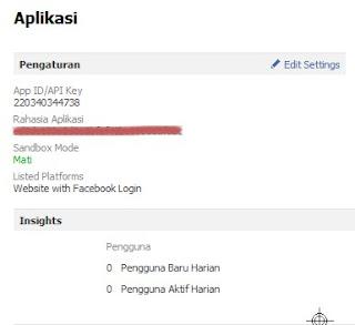 edit setting profil facebook apps