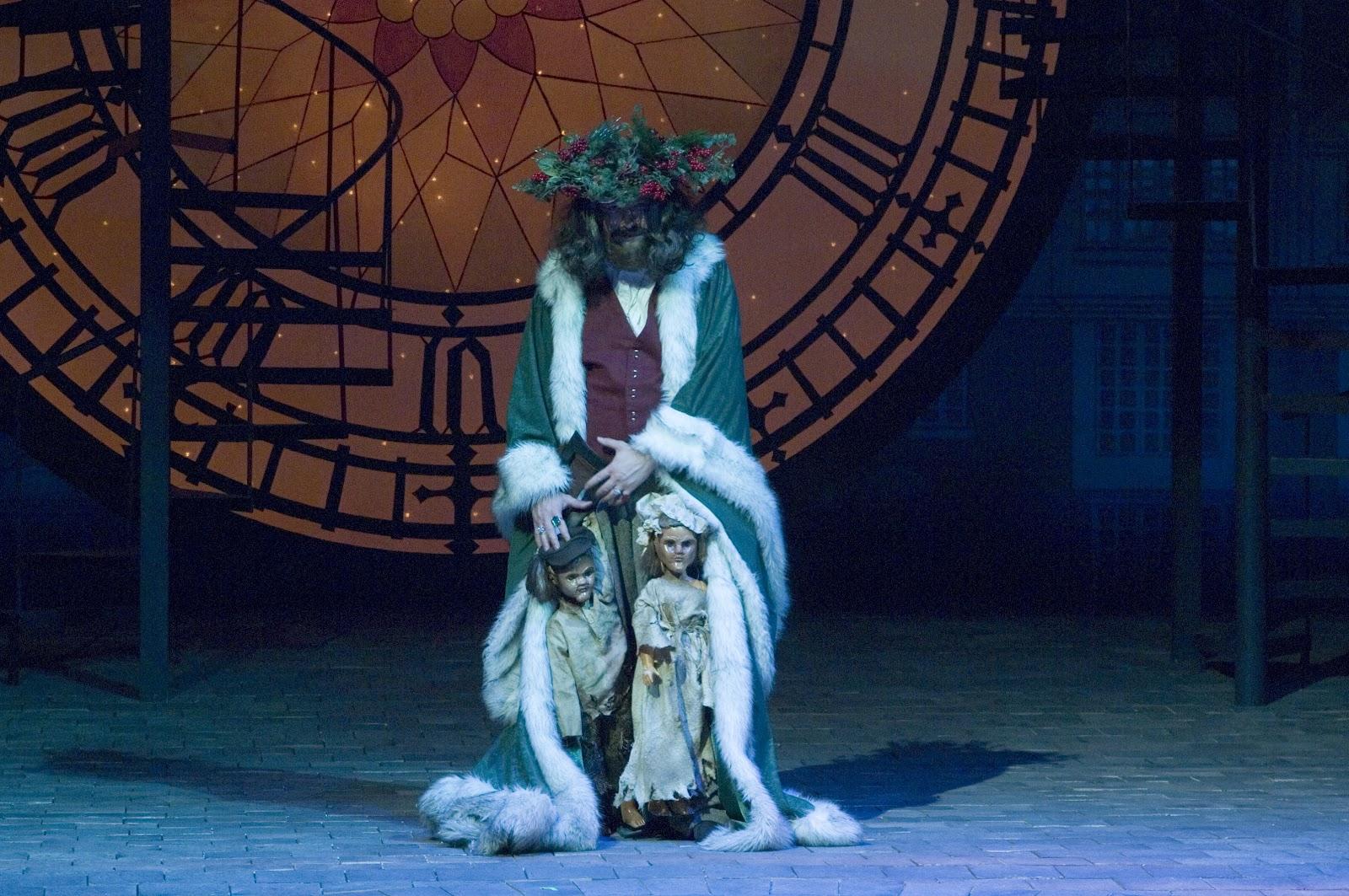 The Theatrical Designs of Gary Benson: A Christmas Carol--Lighting Design