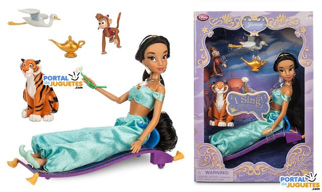 muñeca yasmin aladdin en su caja