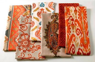 patterns kravet ikat kelim ethnic
