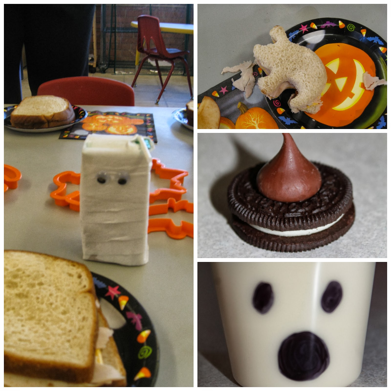 peanut free halloween treats for classroom parties or home