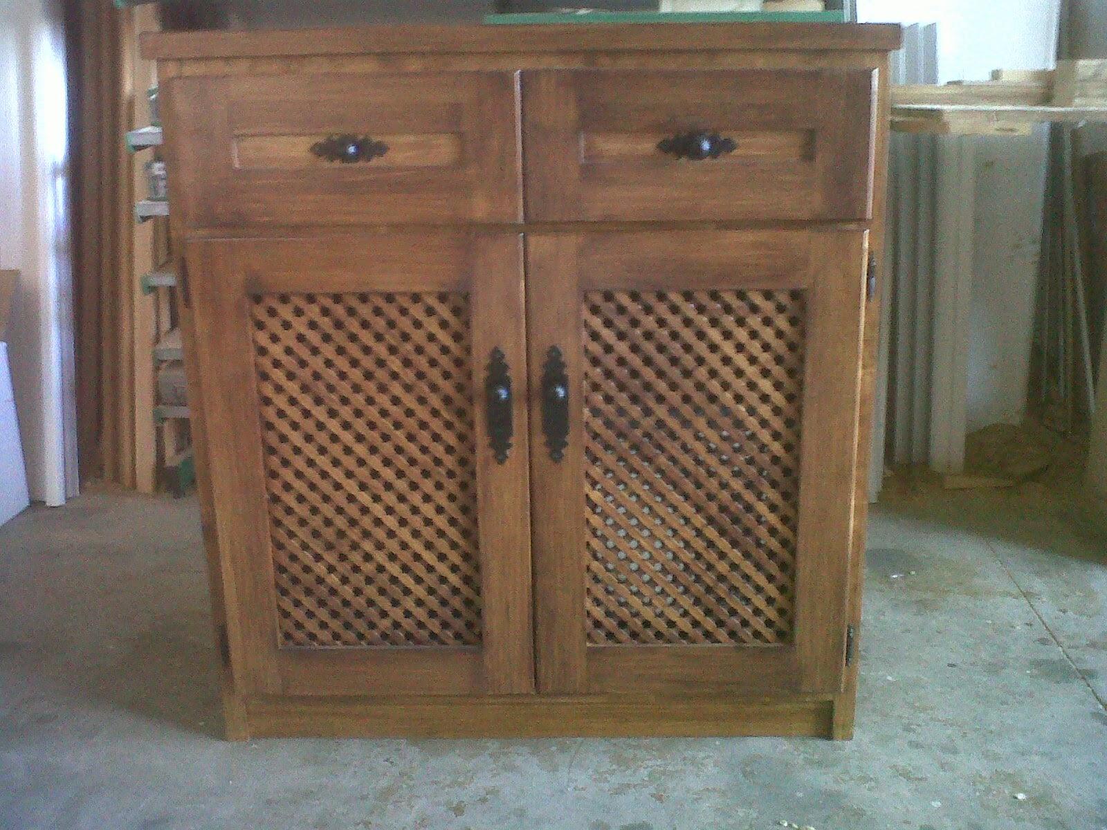 Carpinteria viosca roda mueble auxiliar para cocina - Muebles de cocina auxiliares ...