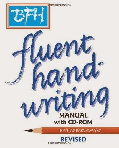 fluent handwriting