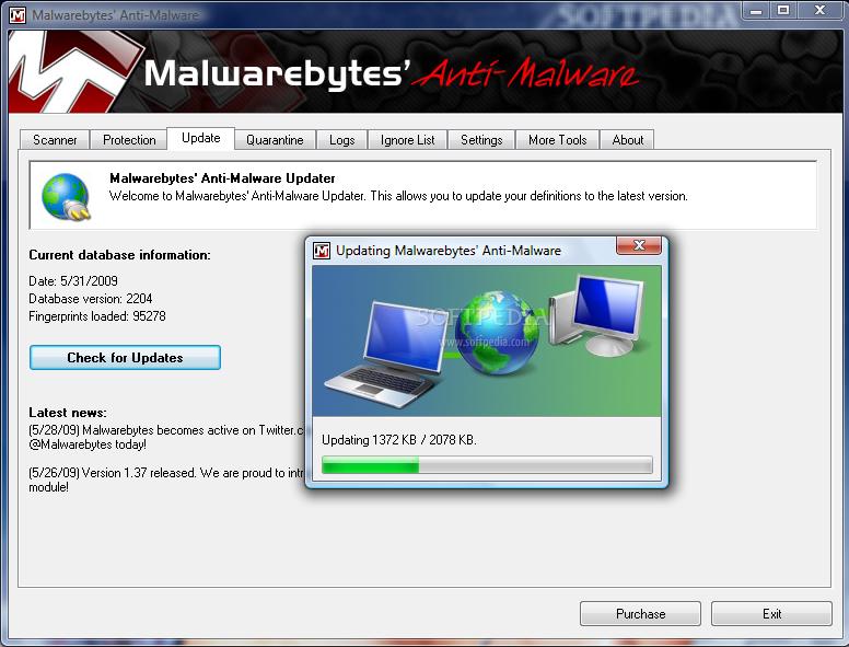 WatFile.com Download Free Experia IT Solutions: Malwarebytes Anti-Malware V 1 60 with Keygen