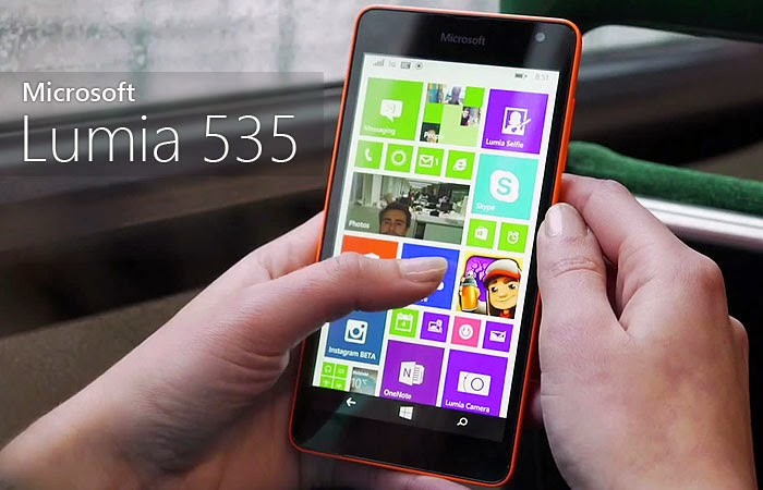 Microsoft Lumia 535 Now Official with 5-Inch Display, 5MP Front and 5MP Rear Camera – Full Specs, Price and Features
