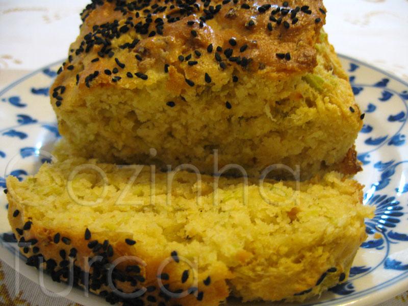 Bolo Salgado de Alho-Francês (Pırasalı Kek)