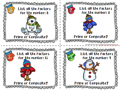 Sparkles and Sweet Tea: New Winter and Christmas Math Activities ...
