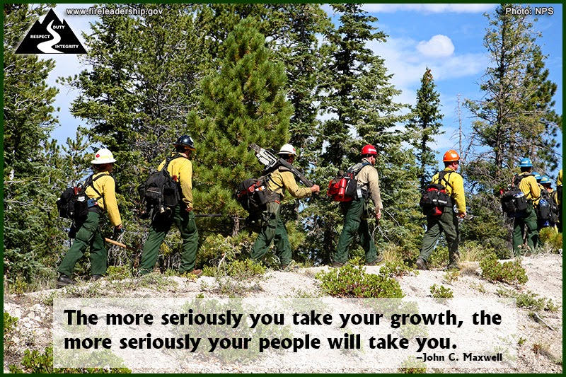 The more seriously you take your growth, the more seriously your people will take you. –John C. Maxwell
