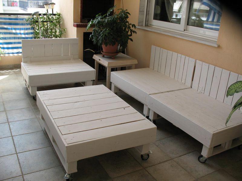 Proceso constructivo de sof exterior for Sofa exterior esquina