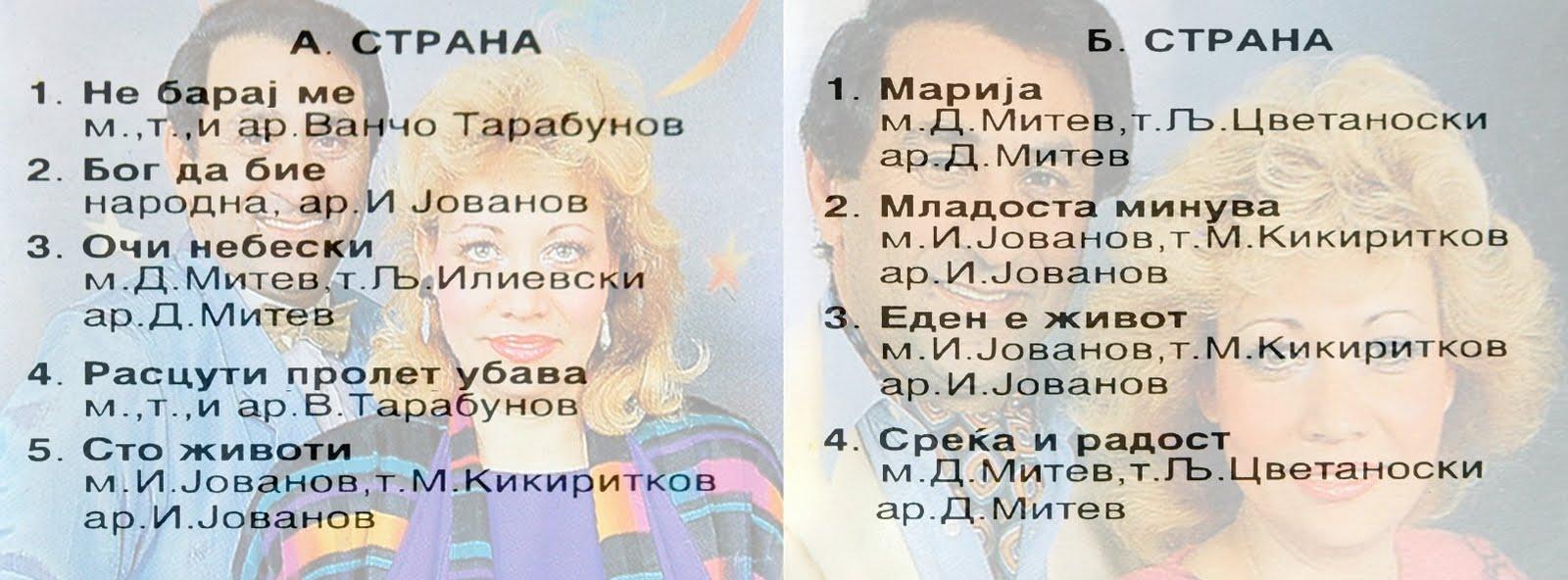 Duet Selimova - Želčeski* Селимова - Желчески - Љуби Ме, Љуби Ме