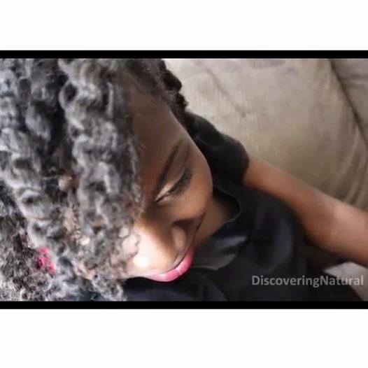 Twistout on Natural Hair