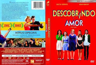 Descobrindo o Amor - Capa + Label DVD